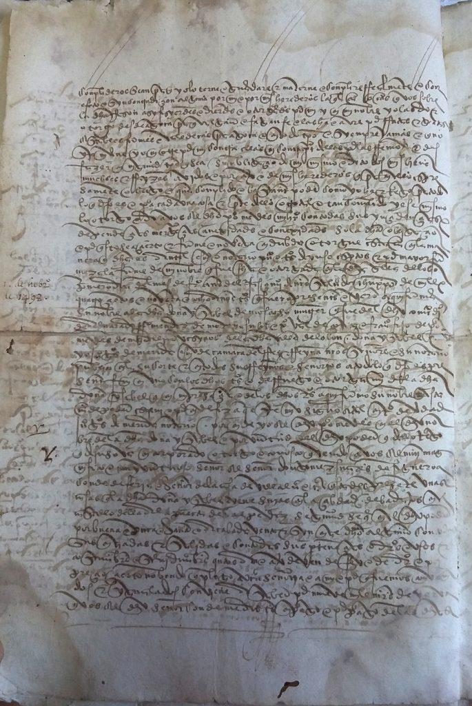 AHPB. Pedro de Tovar. 1631. Fol. 392v