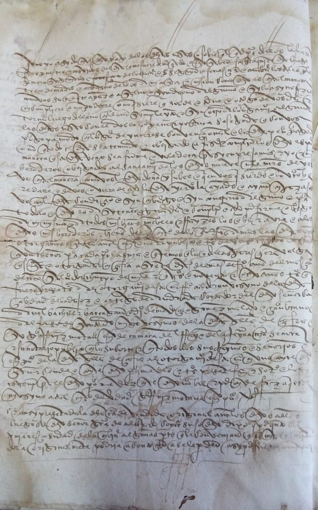 AHPB. Pedro de Tovar. 1631. Fol. 394v