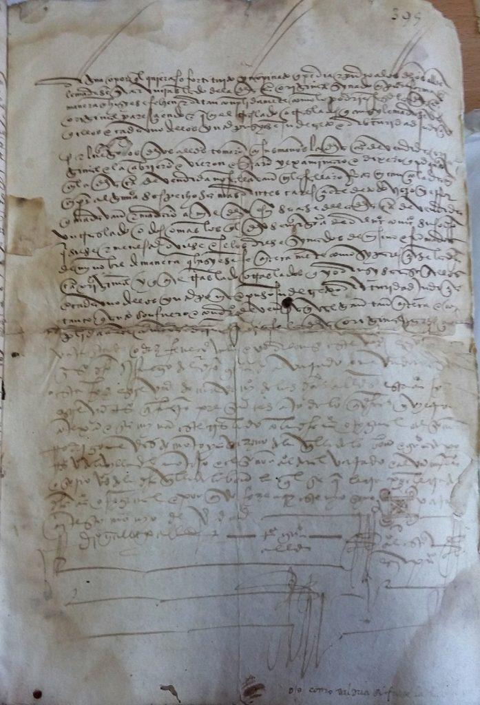 AHPB. Pedro de Tovar. 1631. Fol. 395