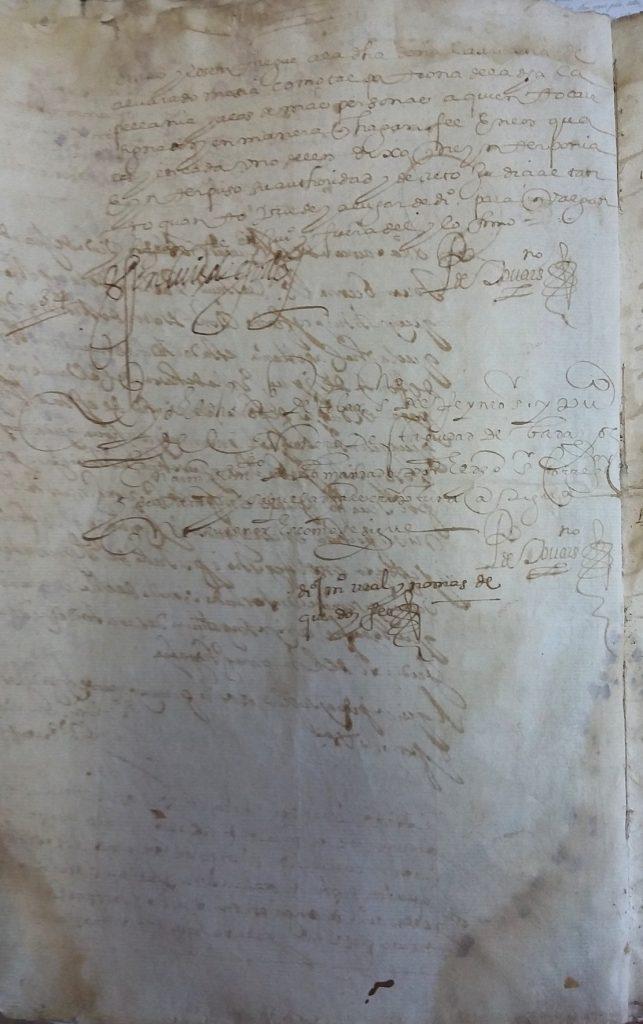 AHPB. Pedro de Tovar. 1631. Fol. 391v