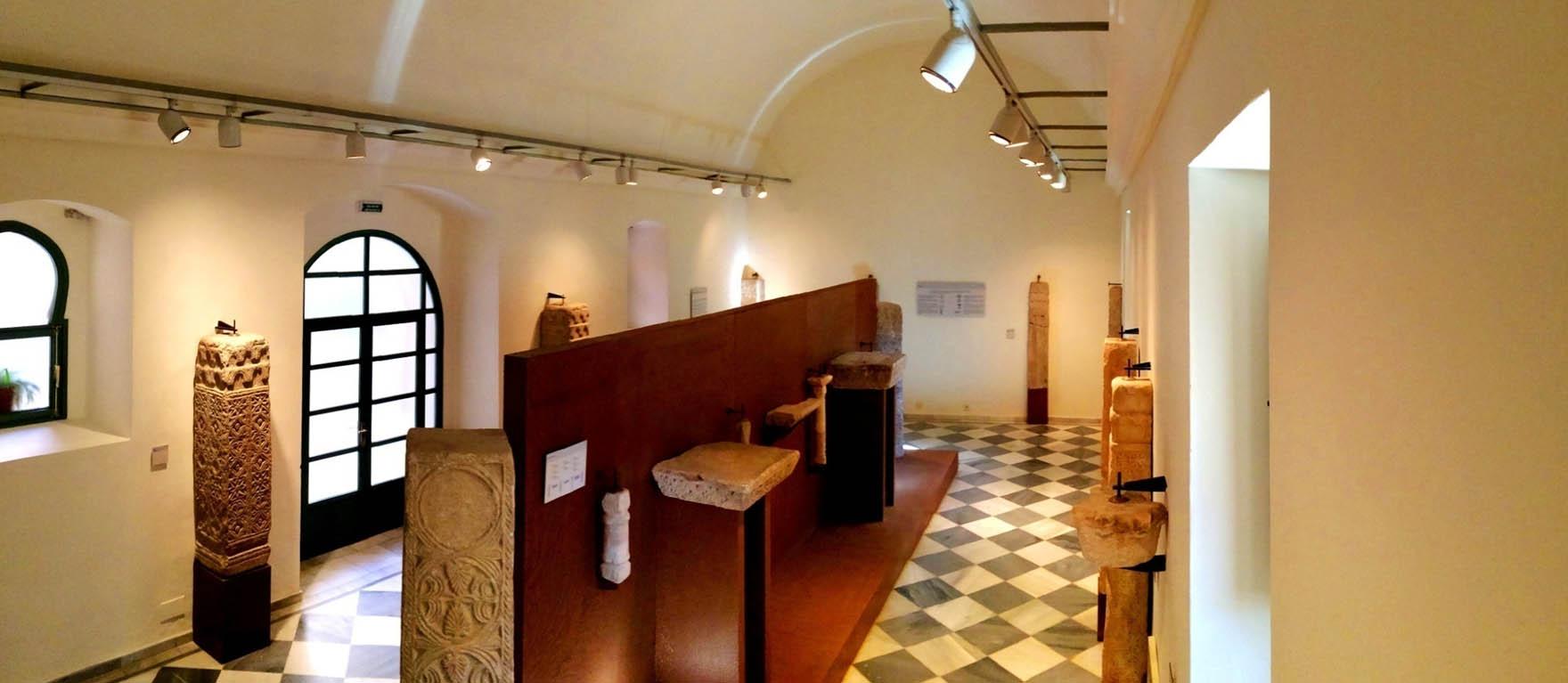 Lámina 19. Sala abovedada de la planta baja del Museo Arqueológico Provincial de Badajoz